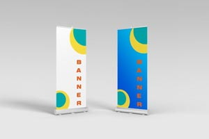 mock-up rollup-u
